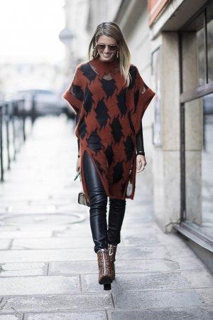 Helena Bordon seen in the streets of Paris