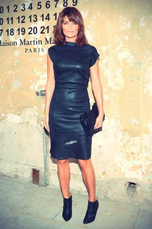 Helena Christensen at Maison Martin Margiela For H&M Launch Party