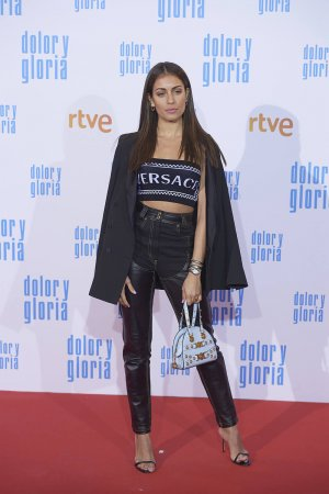 Hiba Abouk attends Dolor y Gloria film premiere