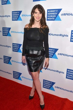 Hilaria Baldwin Robert F Kennedy Human Rights 'Ripple of Hope Award'
