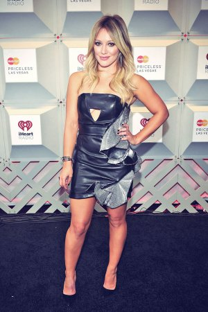 Hilary Duff attends 2014 iHeartRadio Music Festival