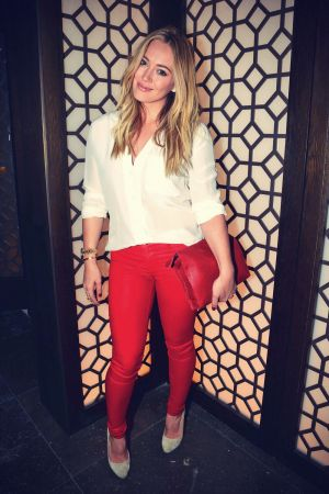 Hilary Duff attends Vallure Vodka Launch Party