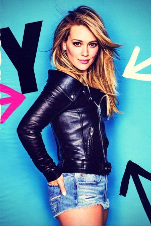 Hilary Duff Cosmopolitan Magazine April 2015