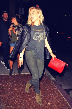 Hilary Duff night out in West Hollywood