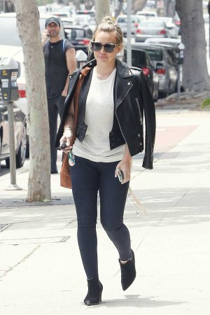 Hilary Duff out and about candids