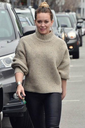 Hilary Duff seen out in LA