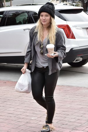 Hilary Duff spotted out and about in Studio City