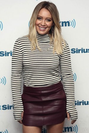 Hilary Duff visits the SiriusXM Studios