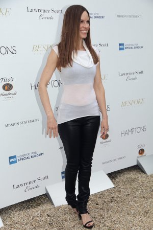 Hilary Swank attends Hamptons Magazine Kicks Off