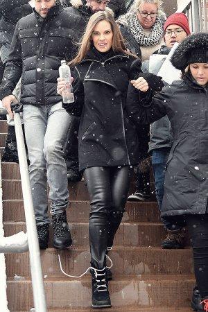 Hilary Swank attends Sundance Film Festival