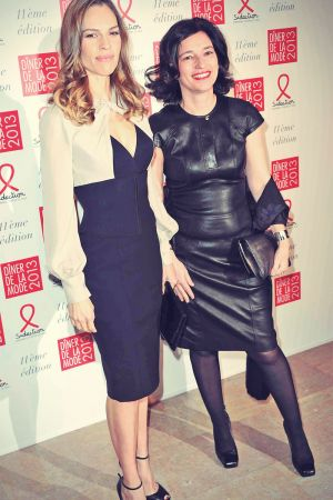 Hilary Swank attends the Sidaction Gala Dinner 2013