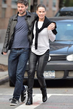 Hilary Swank out and about in Manhattan