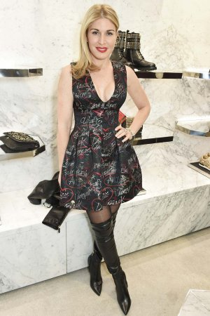 Hofit Golan attends a cocktail party hosted by Philipp Plein
