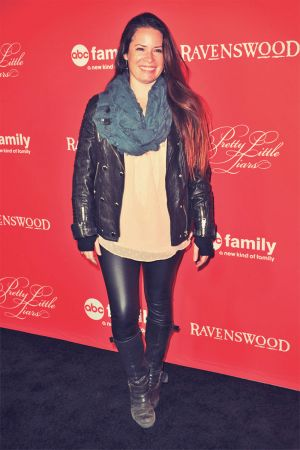 Holly Marie Combs attends a screening of Pretty Little Liars