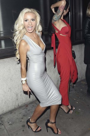 Holly Rickwood attends The National Reality TV Awards