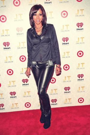 Holly Robinson attends the iHeartRadio 2020 album release party