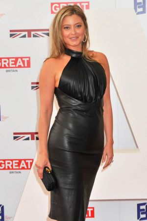 Holly Valance at Founders Forum event
