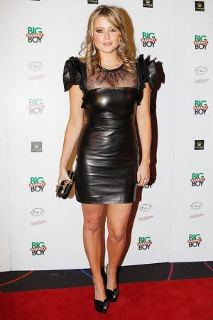 Holly Valance at the premiere of an Australian comedy Big Mamma's Boy