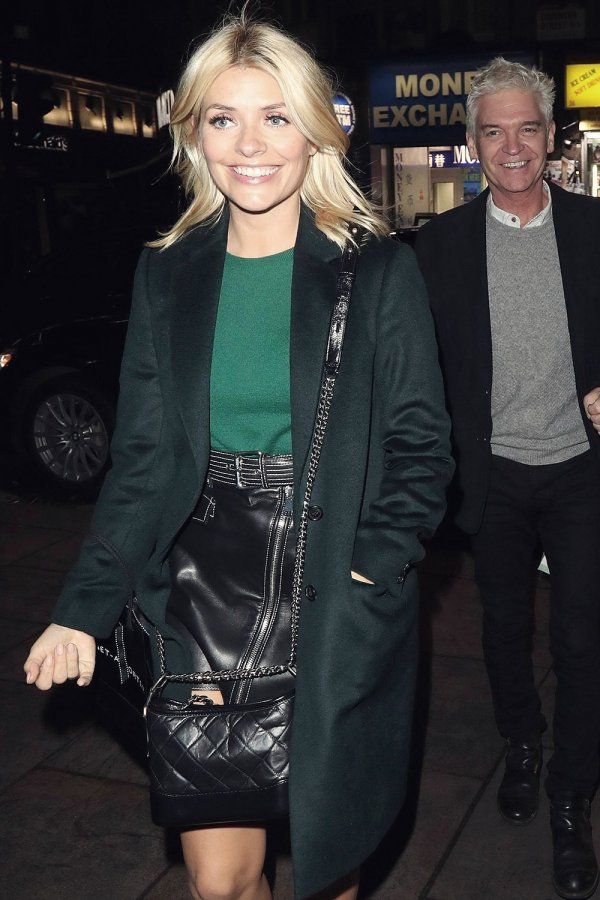 Holly Willoughby at Cafe de Paris