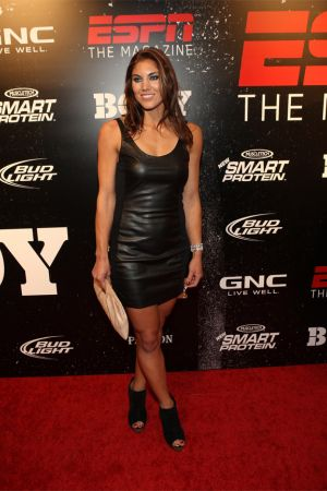 Hope Solo attends ESPN the Magazines 3rd annual Body Issue party