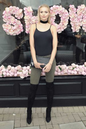 Ianthe Rose Cochrane Stack attends Tamara Ecclestone Salon Show launch