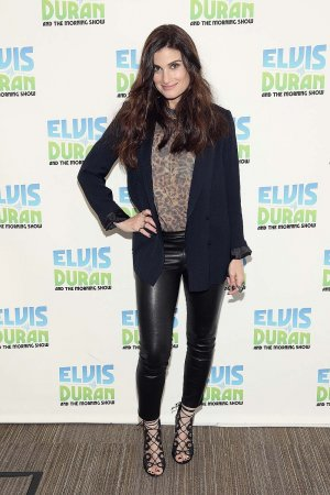 Idina Menzel visits The Elvis Duran Z100 Morning Show