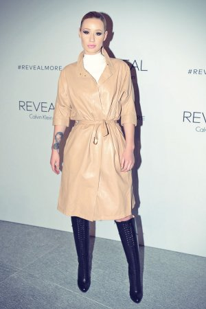 Iggy Azalea attends REVEAL Calvin Klein Fragrance Launch