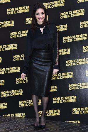 Ilenia Pastorelli attends Non Ci Resta Che Il Crimine film photocall