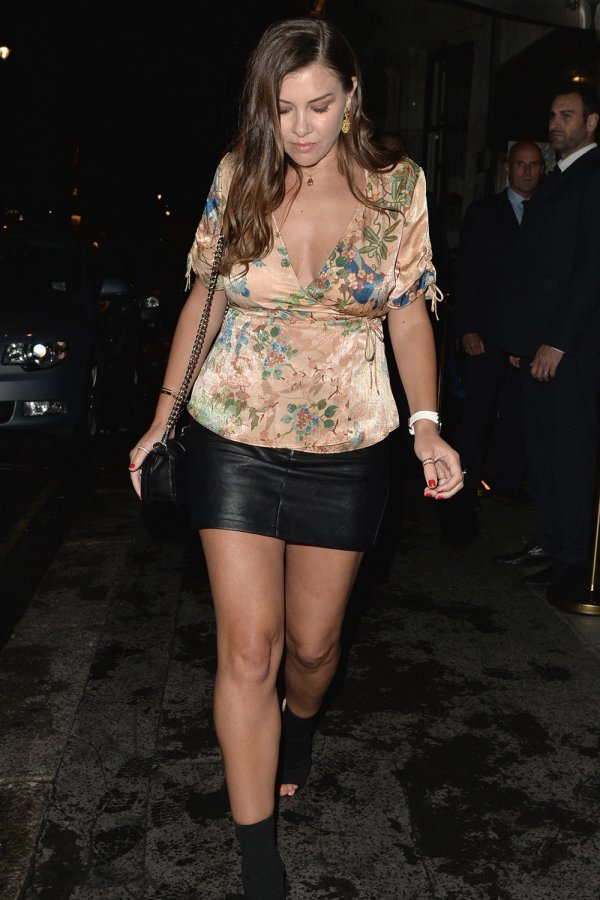 Imogen Thomas seen at Arts Club Mayfair