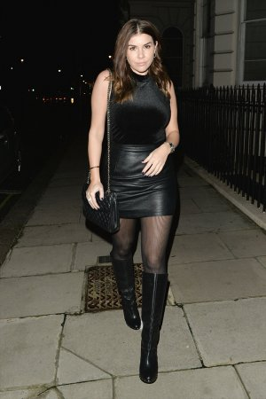Imogen Thomas was seen leaving Novikov