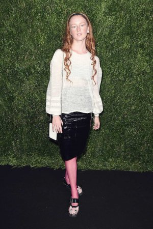 India Salvor Menuez attends the Chanel Fine Jewelry Dinner