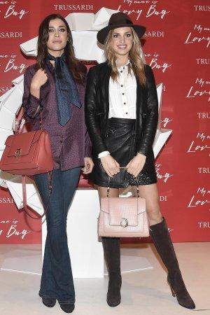 Irene Ciona attends Trussardi Lovy Bag Presentation