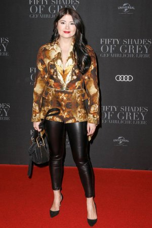 Irina Engelke attends the European premiere of 'Fifty Shades Darker'