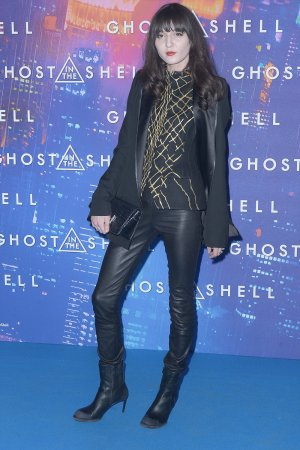 Irina Lazareanu attends the Paris Premiere of the Paramount Pictures release 'Ghost in the Shell'
