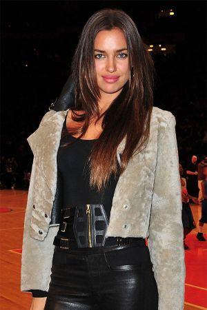 Irina Shayk at the Philadelphia 76ers vs the NY Knicks