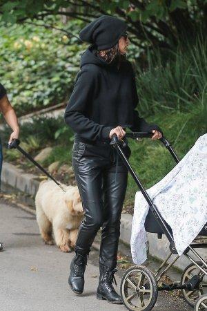 Irina Shayk out for a stroll in Santa Monica
