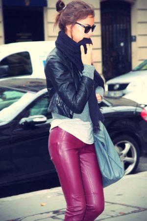 Irina Shayk shopping in Paris