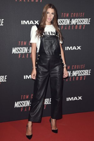 Iris Mittenaere attends Mission Impossible - Fallout Global Premiere
