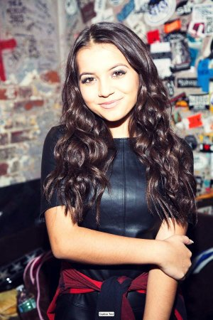 Isabela Moner of Nickelodeon's 100Things To Do Before High School celebrates her album launch party