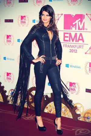 Isabeli Fontana at MTV EMA 2012