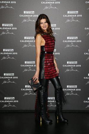 Isabeli Fontana attends the 2015 Pirelli Calendar Red Carpet