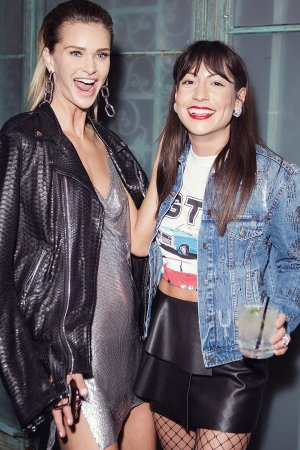 Isabella Lindblom attends hours launch party