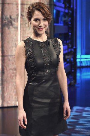 Isabella Ragonese attends a Che Tempo Che Fa Tv Show