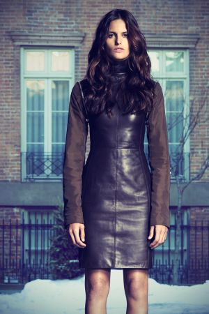 Izabel Goulart - Givenchy Pre-Fall 2011 LookBook
