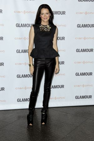 Jacinda Barrett Glamour reel moments in LA