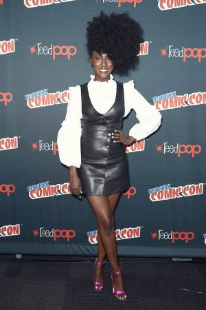 Jade Eshete at the Dirk Gently`s Holistic Detective Agency event