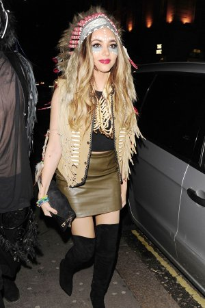 Jade Thirlwall attending Pixie Lott's Cowboys & Indians Themed 24th Birthday Party
