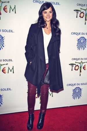 Jaimie Alexander attends Opening night of Cirque du Soleil