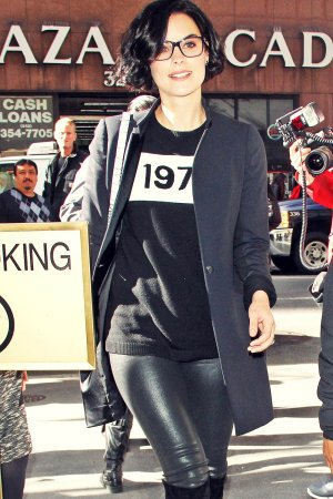 Jaimie Alexander seen leaving NBC Today Show