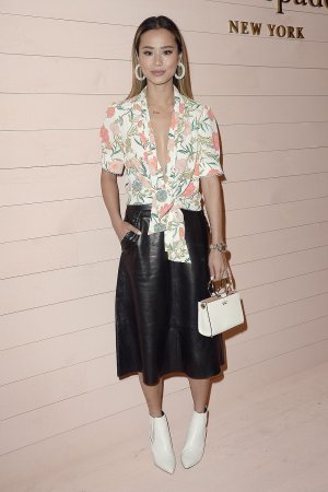 Jamie Chung attends Kate Spade Fashion Show